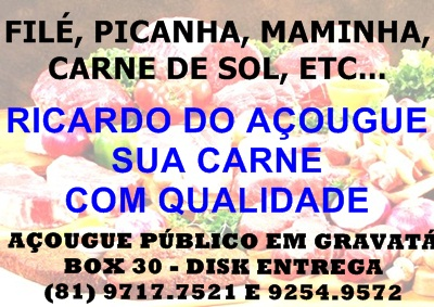 zt RICARDO DO A�OUGUE