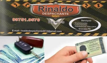 RINALDO DESPACHANTE