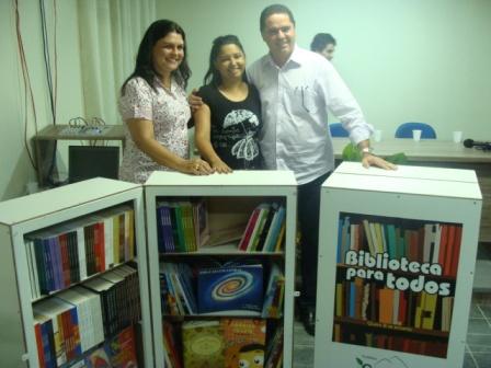 ações ozano gravatá biblioteca para todos